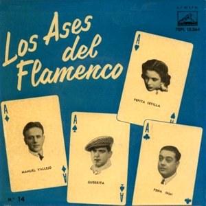 Los Ases Del Flamenco - La Voz De Su Amo (EMI)7EPL 13.364