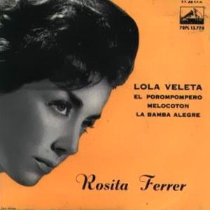 Ferrer, Rosita - La Voz De Su Amo (EMI)7EPL 13.744