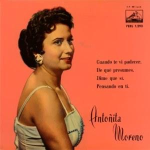 Moreno, Antoñita - La Voz De Su Amo (EMI)7ERL 1.293