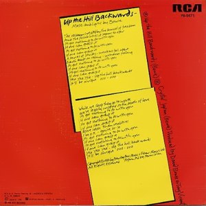 David Bowie - RCAPB-9671