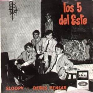 Cinco Del Este, Los - Odeon (EMI)DSOL 66.071