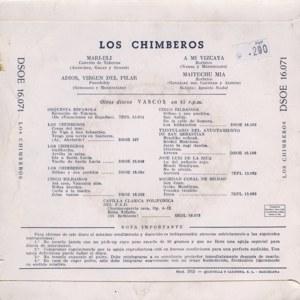 Chimberos, Los - Odeon (EMI)DSOE 16.071