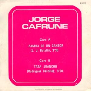 Jorge Cafrune - IberofónIB-45-5.048