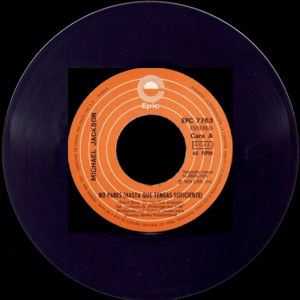 Michael Jackson - Epic (CBS)EPC 7763