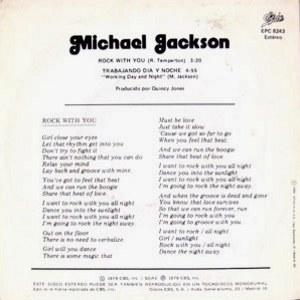 Michael Jackson - Epic (CBS)EPC 8243