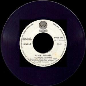 Black Sabbath - Polydor60 59 010