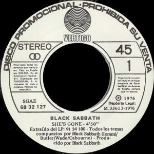 Black Sabbath - Polydor68 32 127