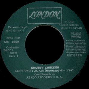 Chubby Checker - ColumbiaMO 1559