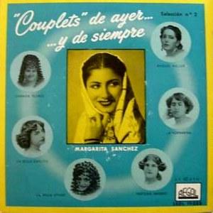Sánchez, Margarita - Regal (EMI)SEDL 19.088