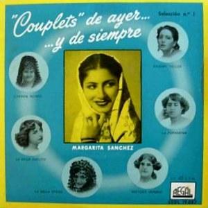 Sánchez, Margarita - Regal (EMI)SEDL 19.087