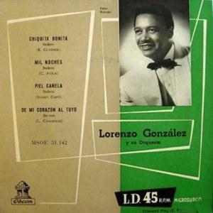 González, Lorenzo - Odeon (EMI)MSOE 31.142