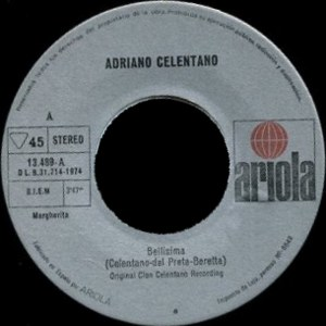 Adriano Celentano - Ariola13.489-A
