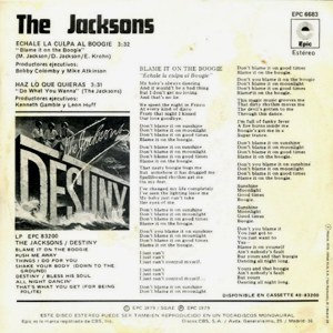 Jacksons, The - Epic (CBS)EPC 6683