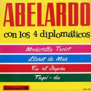 Abelardo Con Los 4 Diplomáticos - San DiegoSAN-108