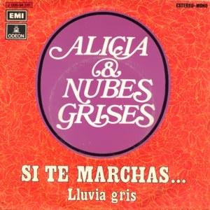 Alicia Y Nubes Grises - Odeon (EMI)J 006-94.341