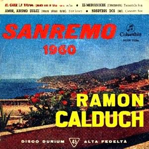 Calduch, Ramón - ColumbiaECGE 71226
