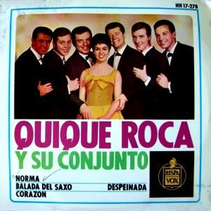 Roca Y Su Conjunto, Quique - HispavoxHH 17-278