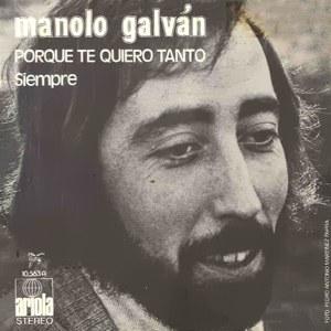 Galván, Manolo - Ariola10.563-A