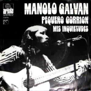 Galván, Manolo - Ariola11.520-A