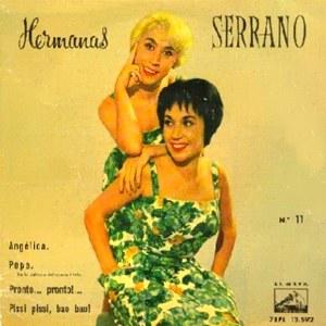 Hermanas Serrano - La Voz De Su Amo (EMI)7EPL 13.592