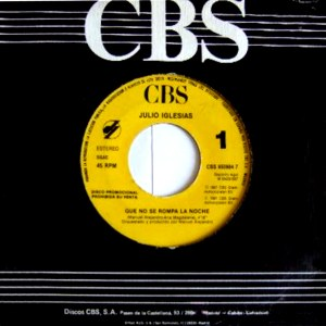 Julio Iglesias - CBS658984-7