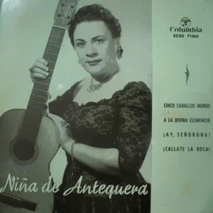Niña De Antequera - ColumbiaECGE 71365