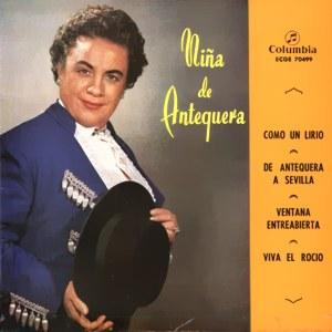 Niña De Antequera - ColumbiaECGE 70499