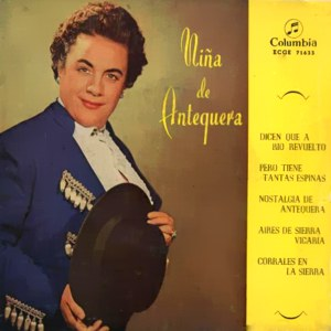 Niña De Antequera - ColumbiaECGE 71633
