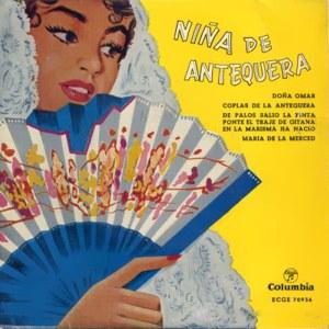 Niña De Antequera - ColumbiaECGE 70936