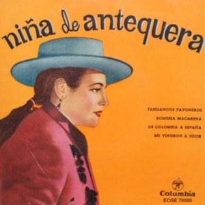 Niña De Antequera - ColumbiaECGE 70500