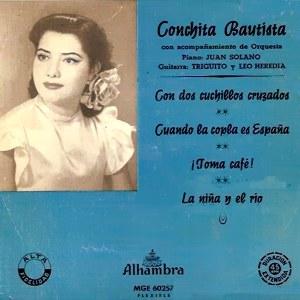 Bautista, Conchita - Alhambra (Columbia)MGE-60257