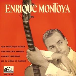 Montoya, Enrique - Regal (EMI)SEDL 19.298