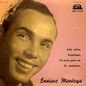 Montoya, Enrique - Regal (EMI)SEDL 19.292