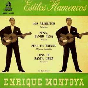 Montoya, Enrique - Odeon (EMI)DSOE 16.421