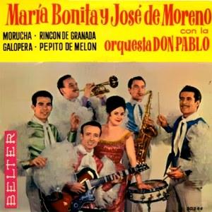 María Bonita Y José De Moreno - Belter50.544