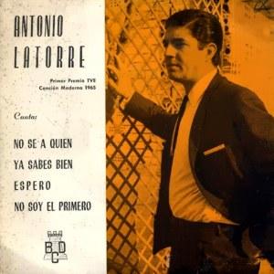 Latorre, Antonio - Discos BCDJ-20023-B