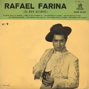 Farina, Rafael - Odeon (EMI)DSOE 16.325