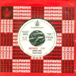 Ríos, Miguel - HispavoxCP- 49