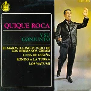 Roca Y Su Conjunto, Quique - HispavoxHH 17-293