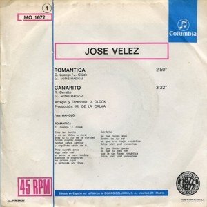 José Vélez - ColumbiaMO 1672
