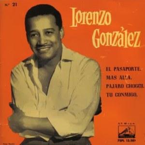 González, Lorenzo - La Voz De Su Amo (EMI)7EPL 13.587