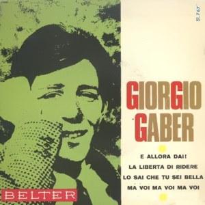 Gaber, Giorgio - Belter51.767
