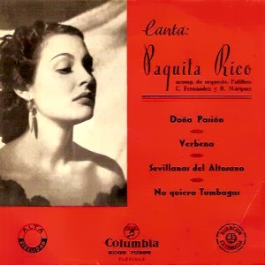 Rico, Paquita - ColumbiaECGE 70266