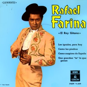 Farina, Rafael - Odeon (EMI)J 016-20.473