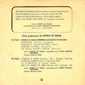 Imperio De Triana - TelefunkenTFK-95027