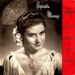 Antoñita Moreno - ColumbiaECGE 70165
