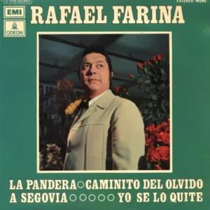 Farina, Rafael - Odeon (EMI)J 016-20.945