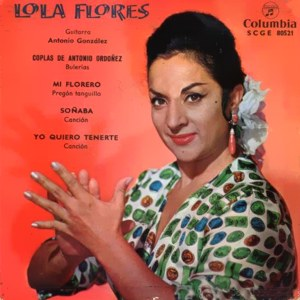 Flores, Lola - ColumbiaSCGE 80521