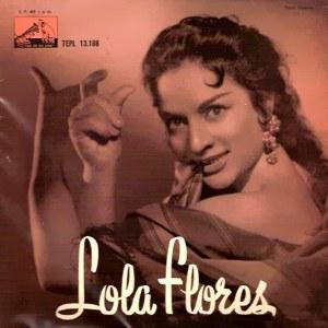 Flores, Lola - La Voz De Su Amo (EMI)7EPL 13.188