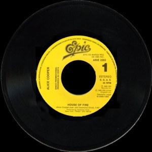 Alice Cooper - Epic (CBS)ARIE-2353